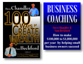 100 Ways To Create Wealth, Business Coaching